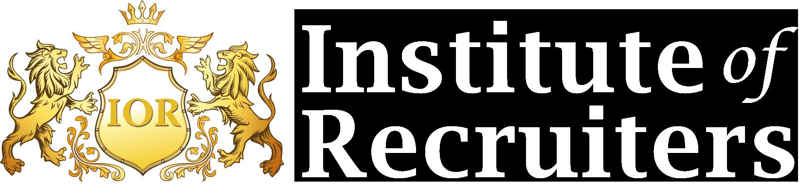 Institute of Recruiters logo